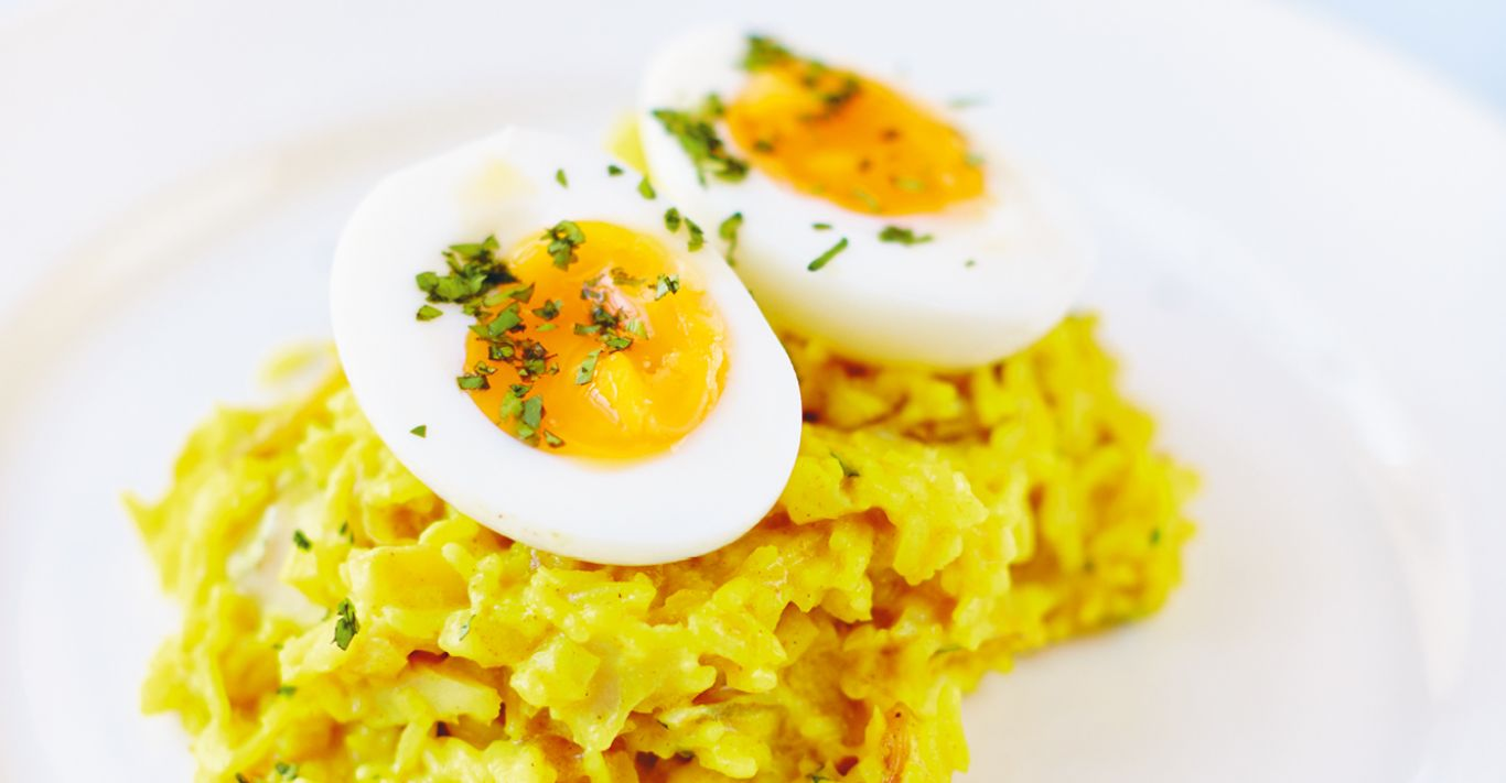 Kedgeree from The Fortnum's Cook Book