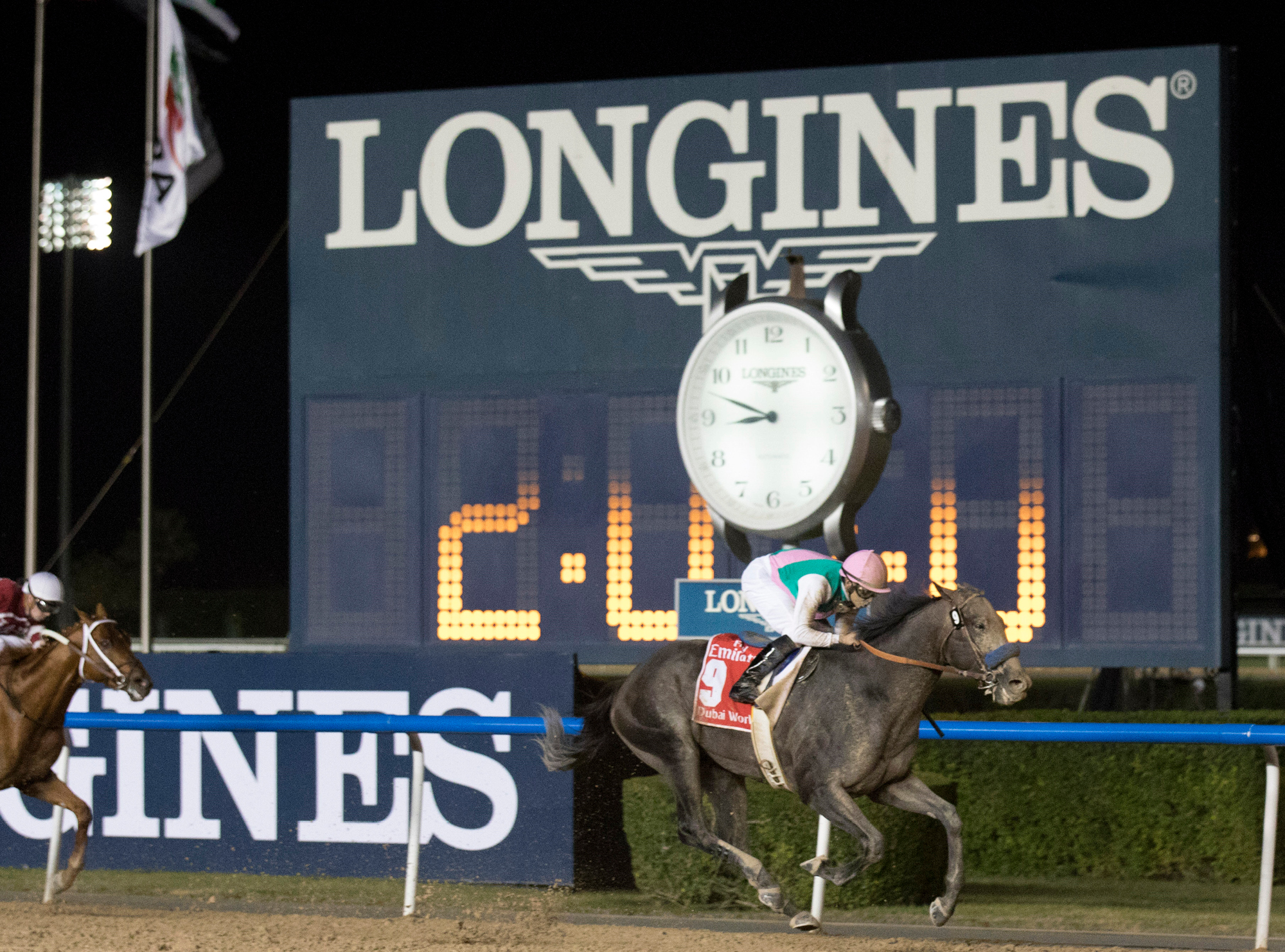 Longines have a long history of involvement in horse racing and training