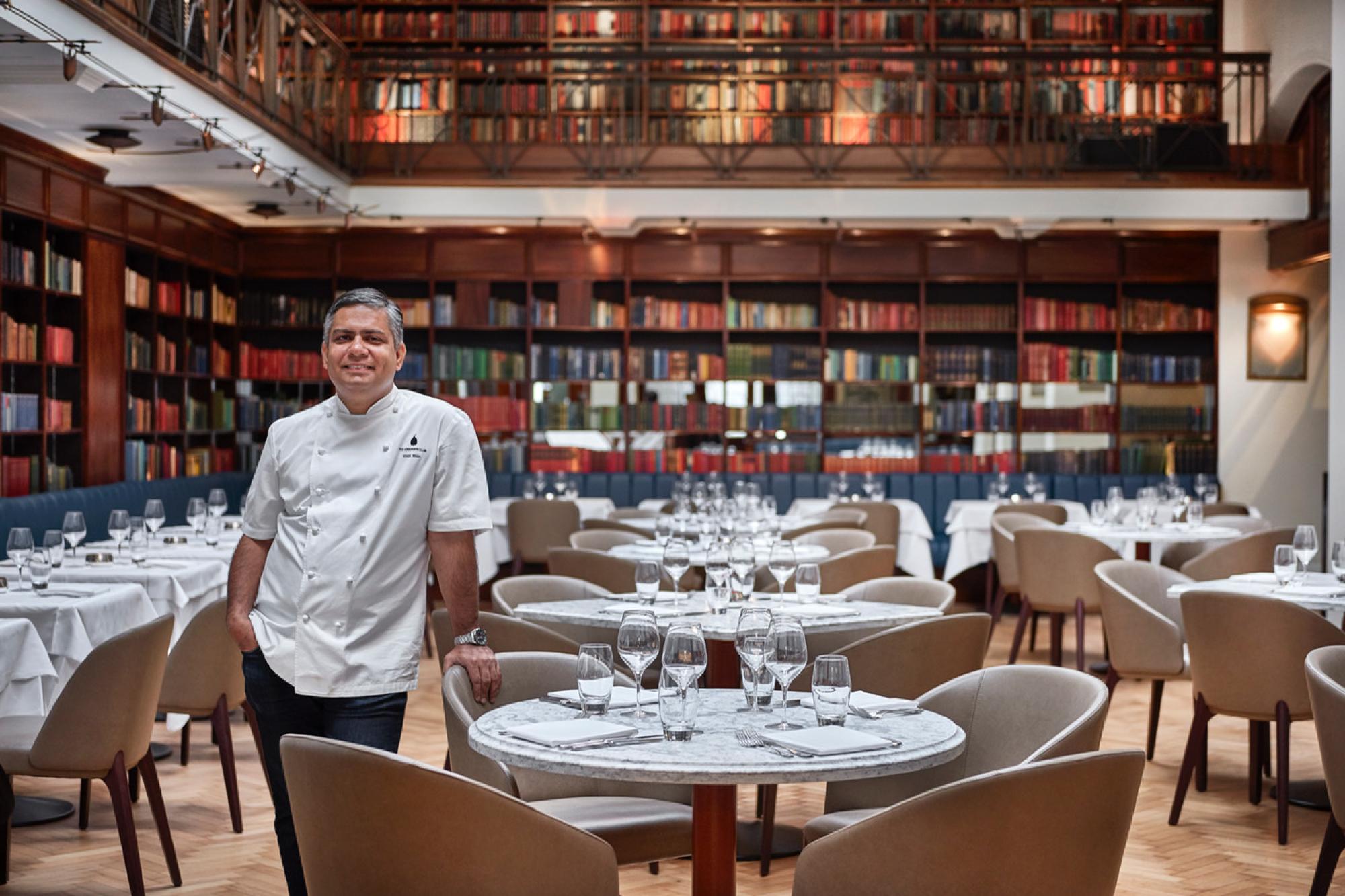 Chef Vivek Singh talks to Brummell about salt, cricket and Simon Rogan