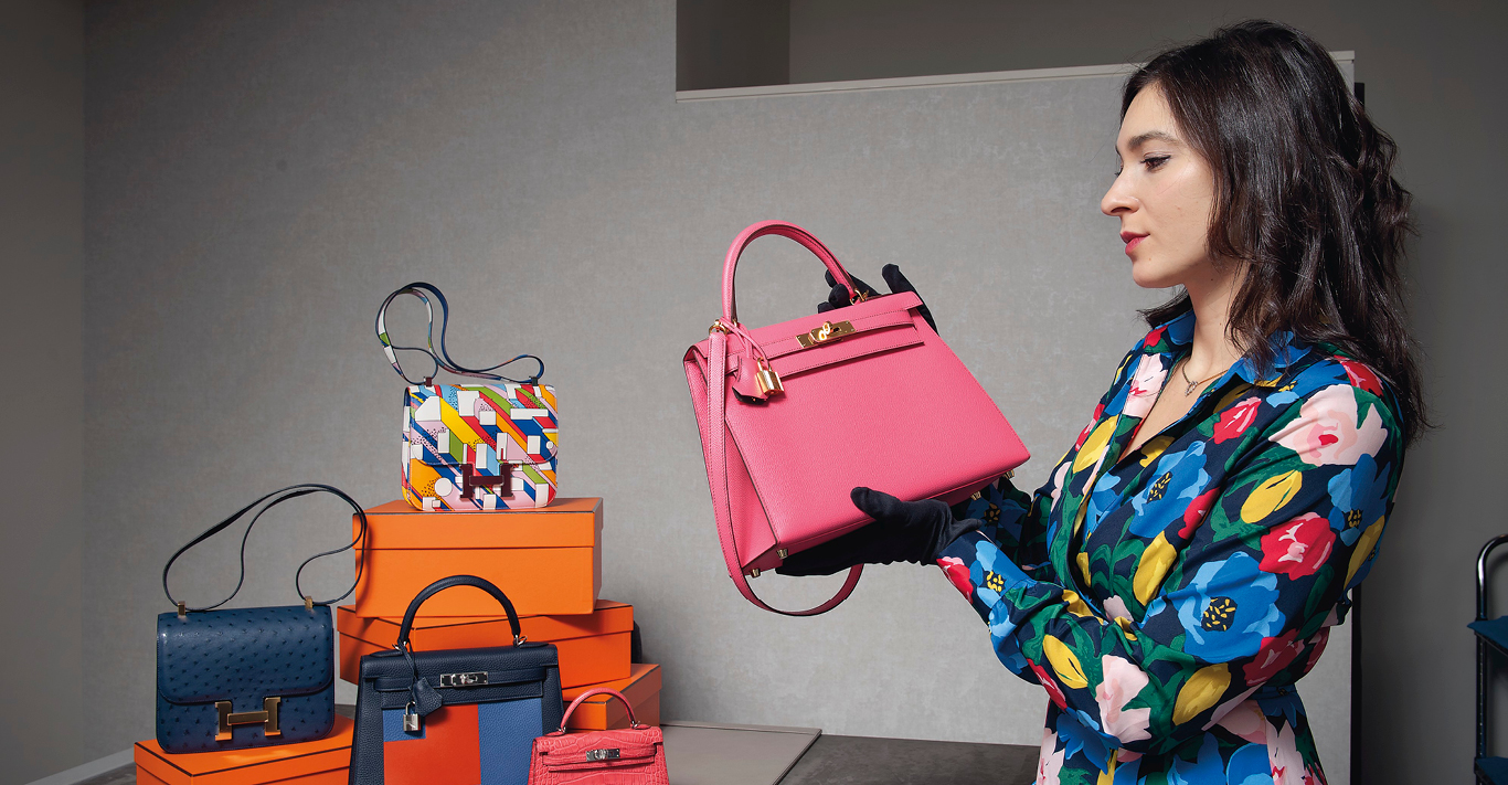 Rachel Koffsky, head of handbag sales at Christie's