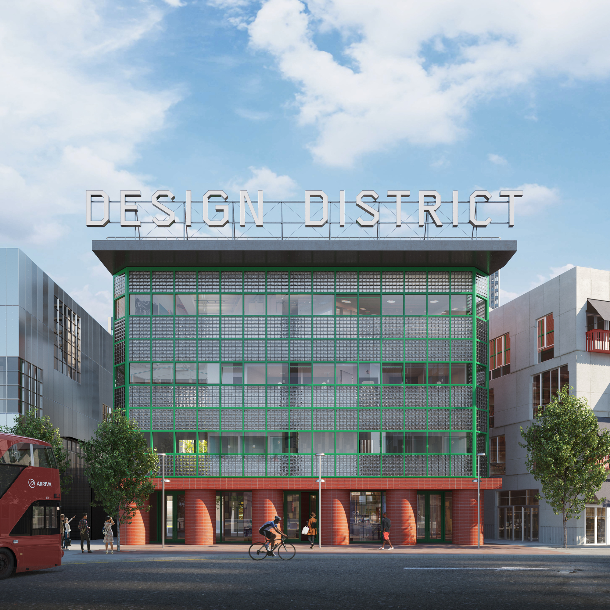 The Design District will open in North Greenwich later this year