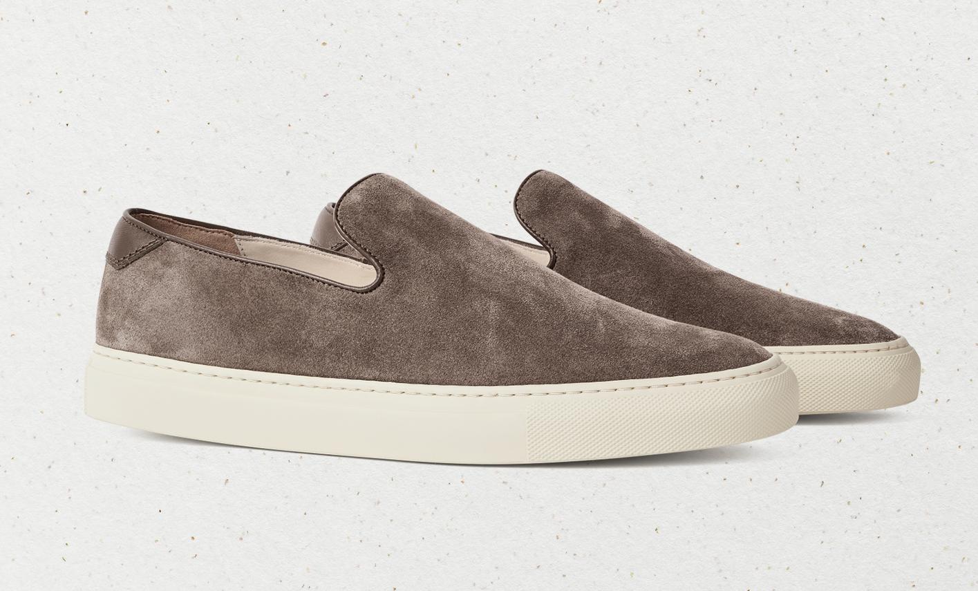 Supreme comfort from CQP's 'jetty' low wholecut slip-on sneakers