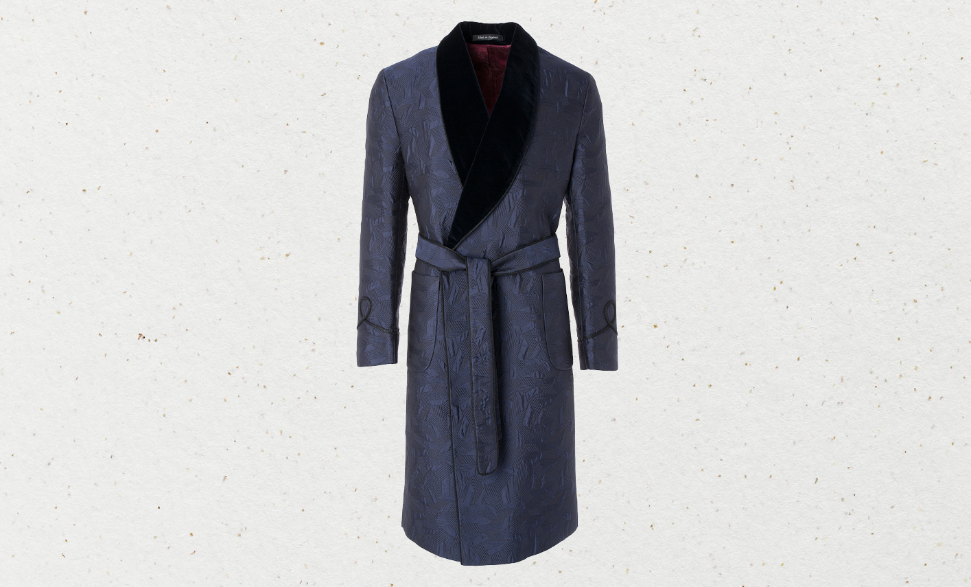 Favourbrook's decadent silk dressing down
