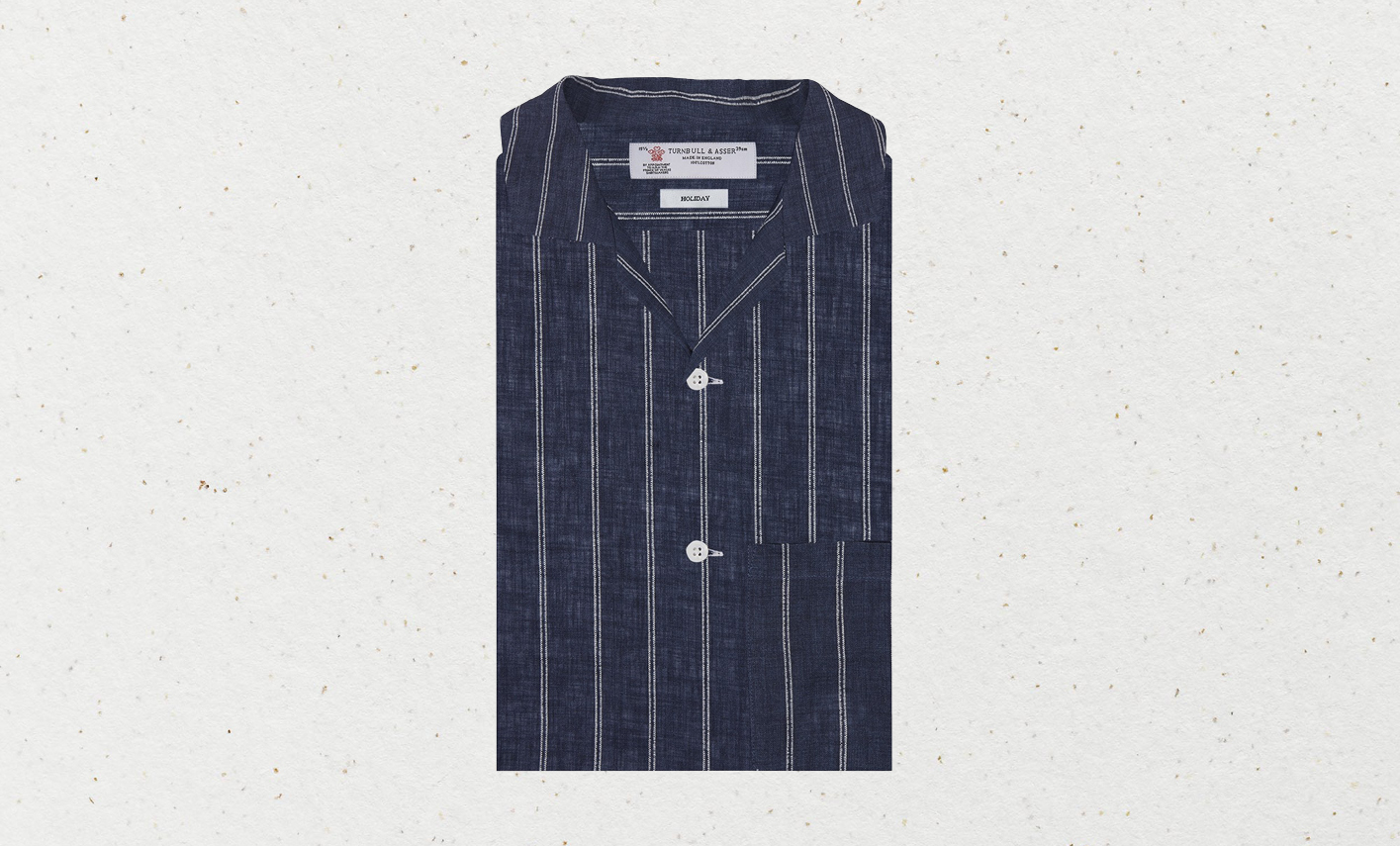 The relaxed but elegant Turnbull & Asser 'holiday fit' shirt