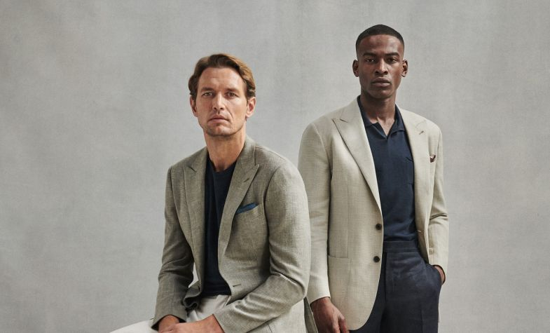 Thom Sweeney's handsome SS20 collection is available from its new ecommerce store