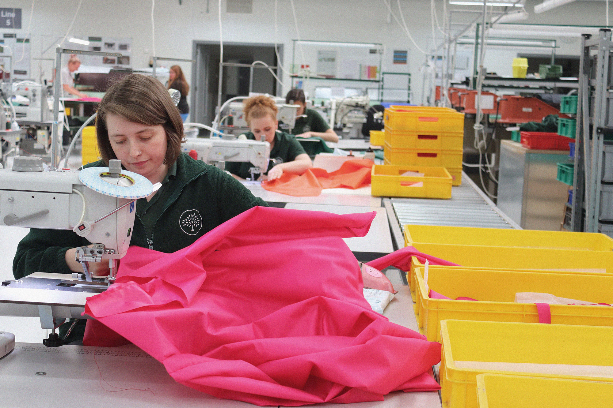 Mulberry's Somerset factories are making reusable PPE gowns for the Bristol NHS Trust