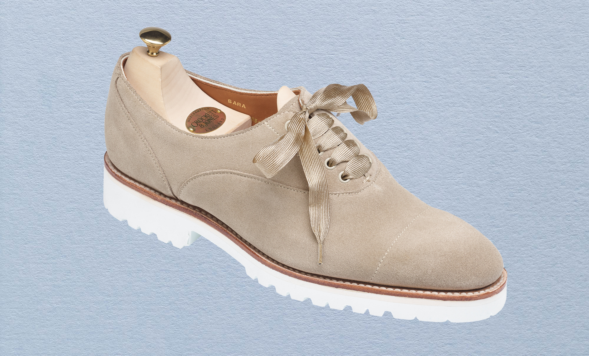 The Sara is part of the new spring/summer collection from Crockett & Jones