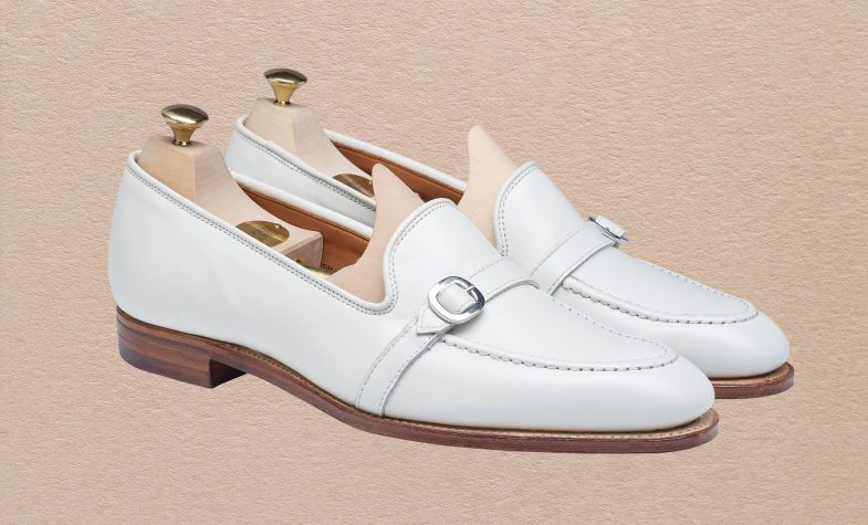 The Tessa loafer in white calf is new for spring/summer 2020