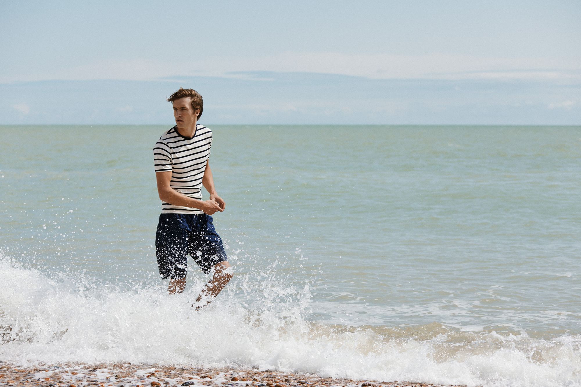 Sunspel's exquisitely made t-shirts are the perfect hot-weather staple