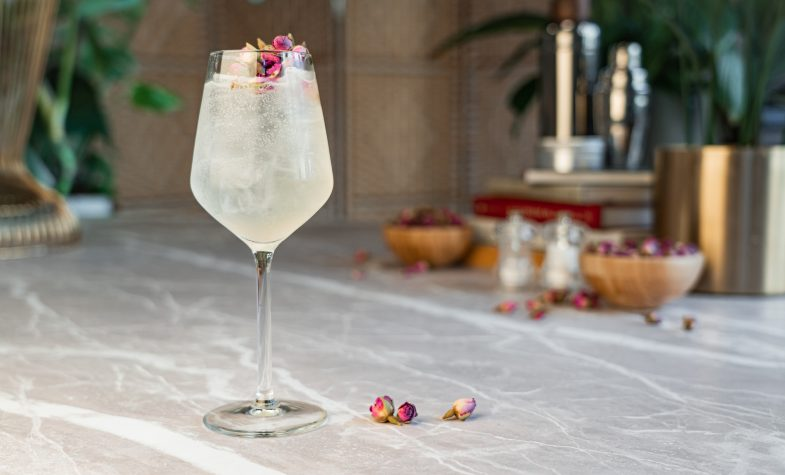 "The ""Le Fizz"" spritz is one of the cocktails currently available from Cocktail Porter"