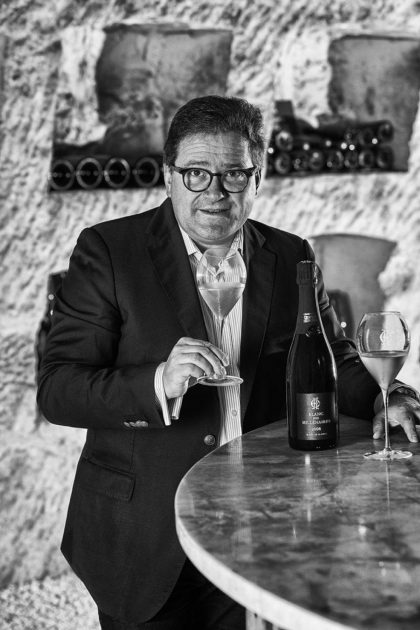 Charles Heidsieck cellar master Cyril Brun