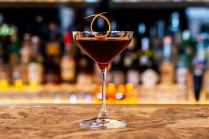 Hotel Eden Rome's Bacchus Manhattan is a terrific tipple for World Whisky Day