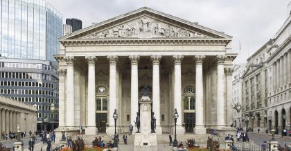 The Royal Exchange reopens today