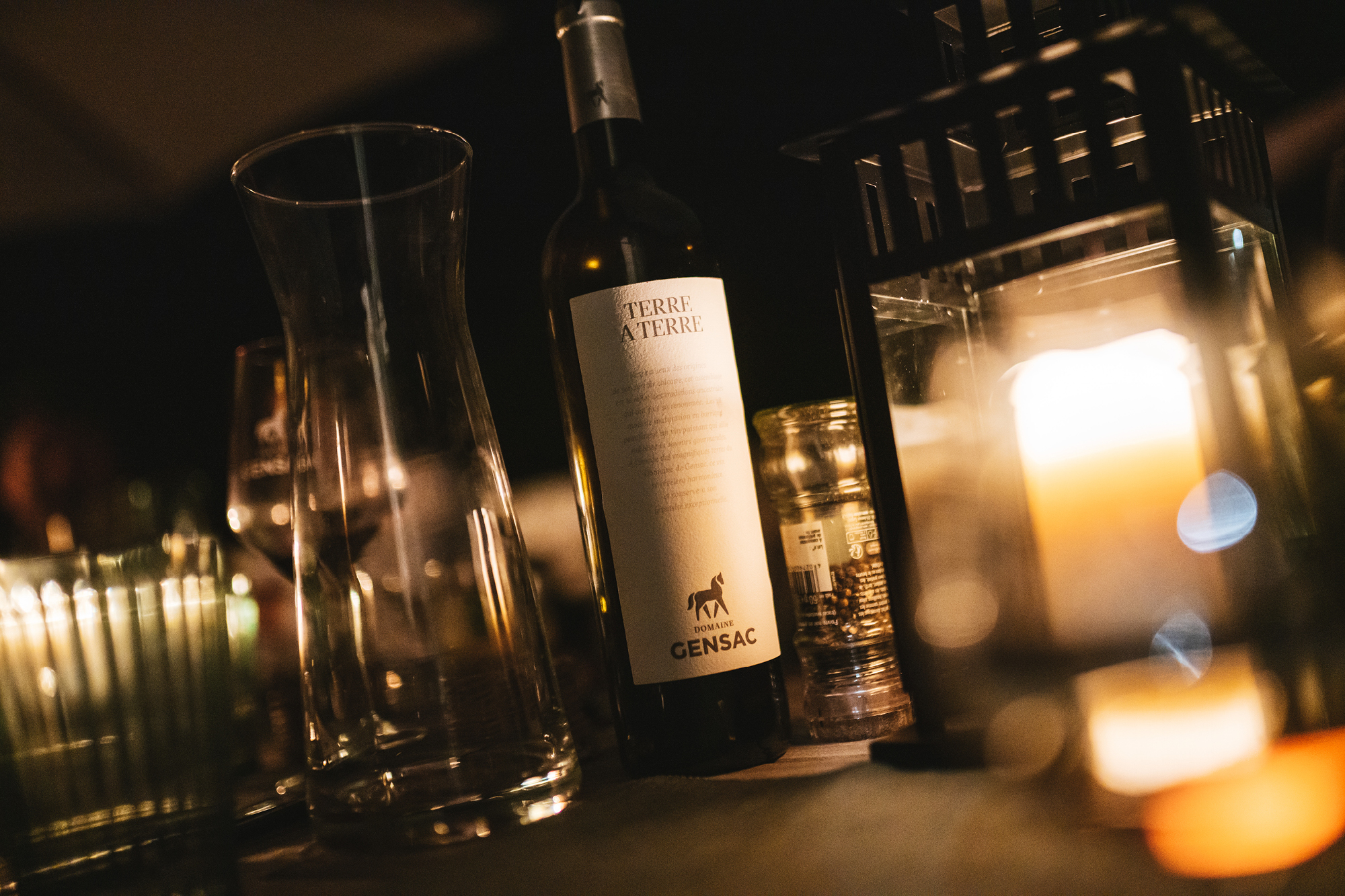 Domaine Gensac Terre A Terre wine