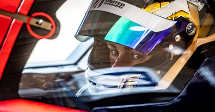 Racing driver Philip Hanson