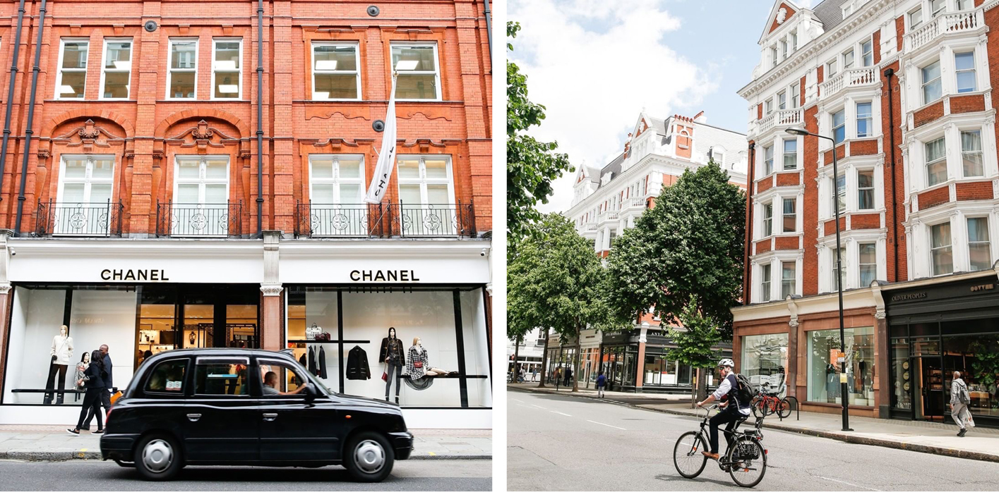 Sloane Street is one of the world's most desirable shopping destinations