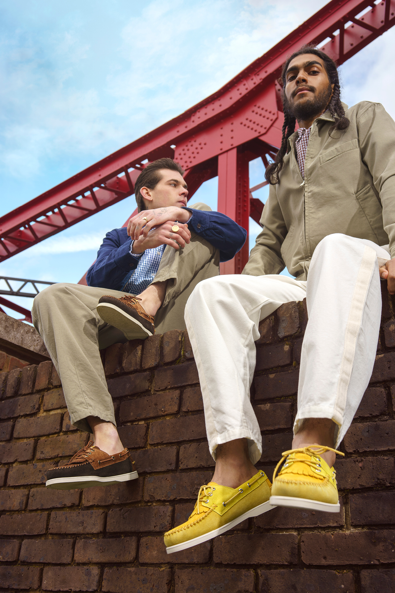 Universal Works collaborated with US shoe brand Sebago on a capsule collection for SS20
