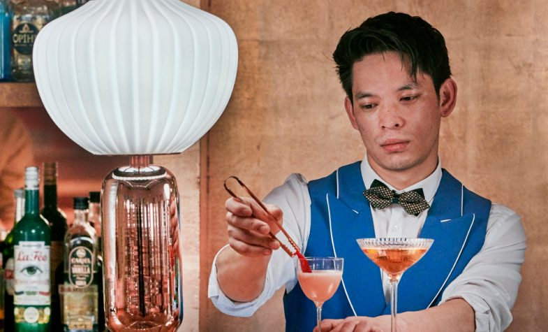 Innovative and beautiful ways of serving champagne is a drinks trend to look forward to