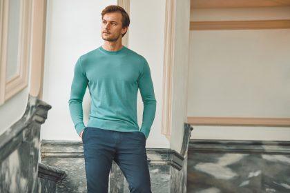 Luca Faloni cashmere crew neck sweater