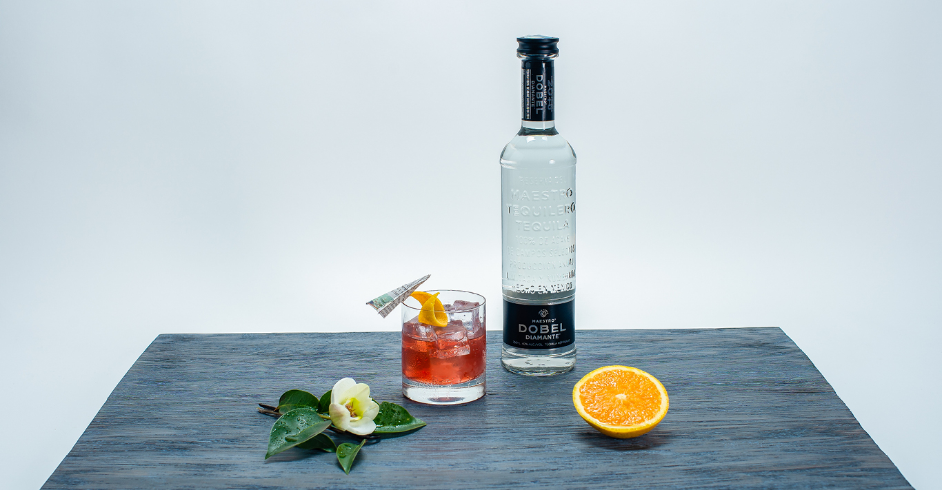 Maestro Dobel Diamante tequila works perfectly in cocktails and is delicious drunk neat