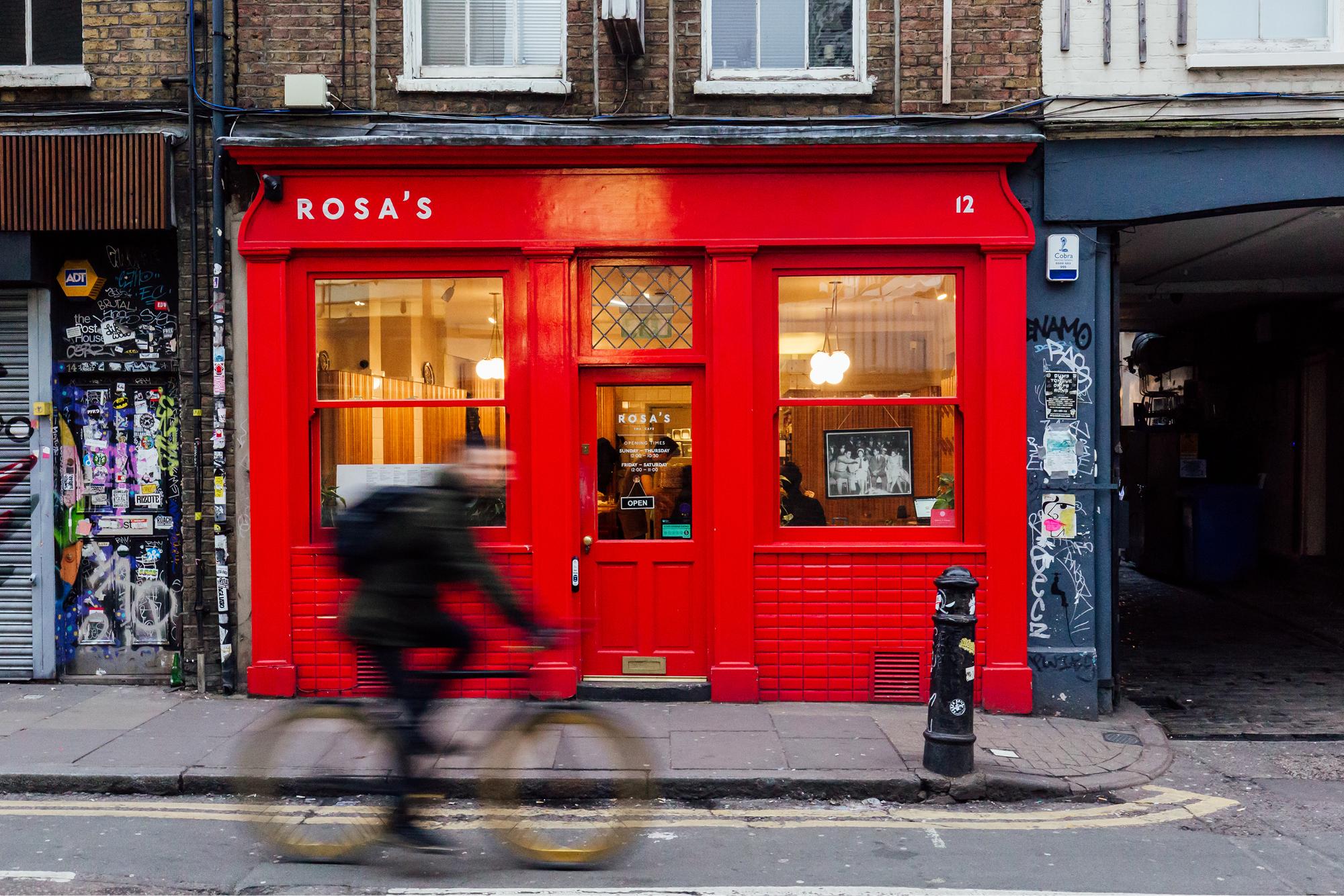 Rosa's Thai Cafe in Spitalfields