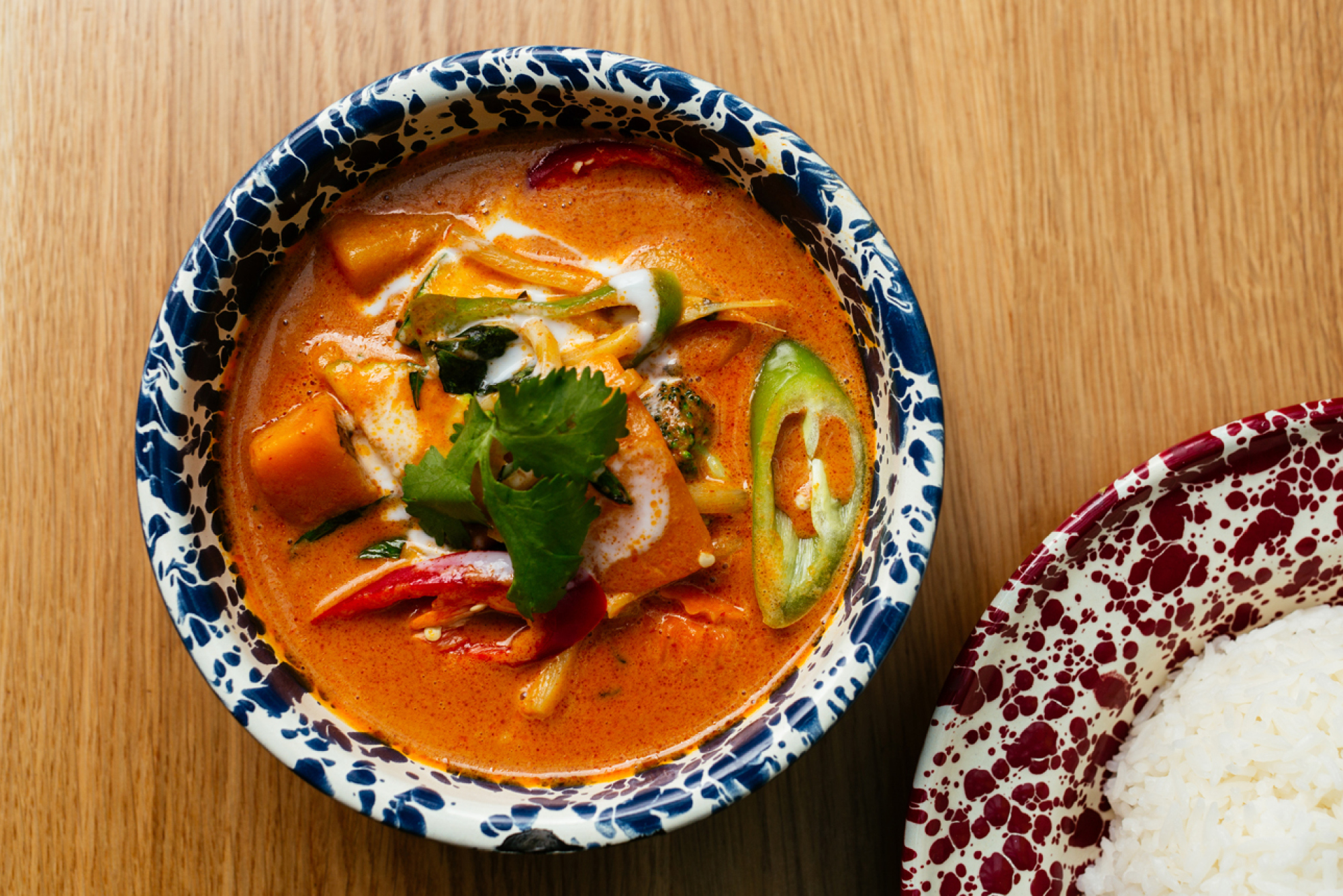 Rosa's Thai Cafe butternut red curry