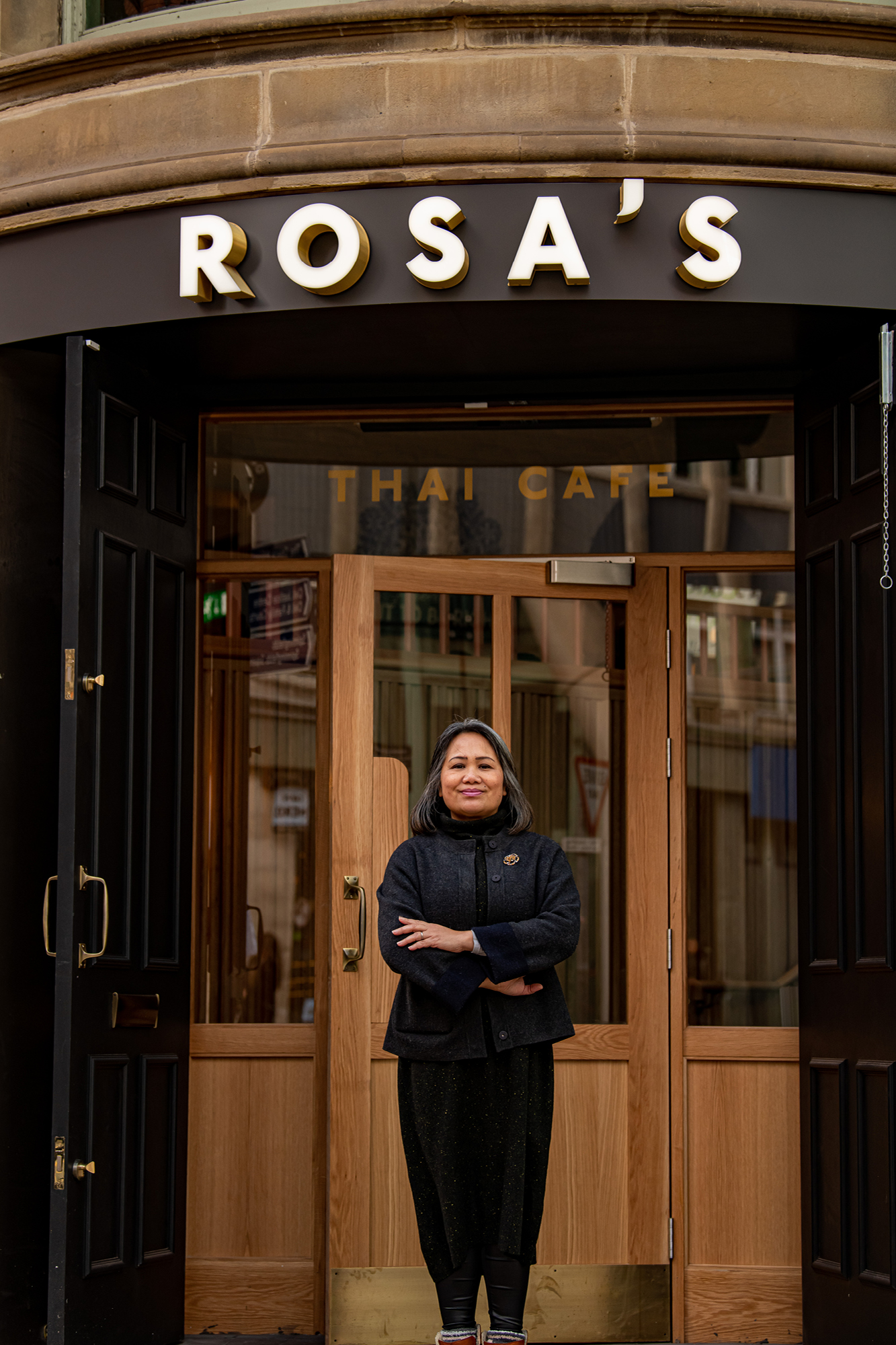 Saiphin Moore of Rosa's Thai Cafe and Lae Cafe