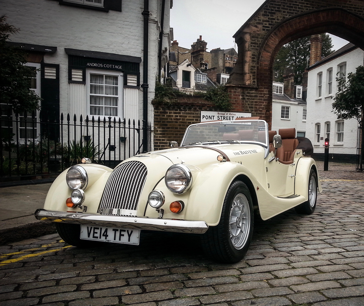 The Balvenie Morgan motorcar is also up for grabs