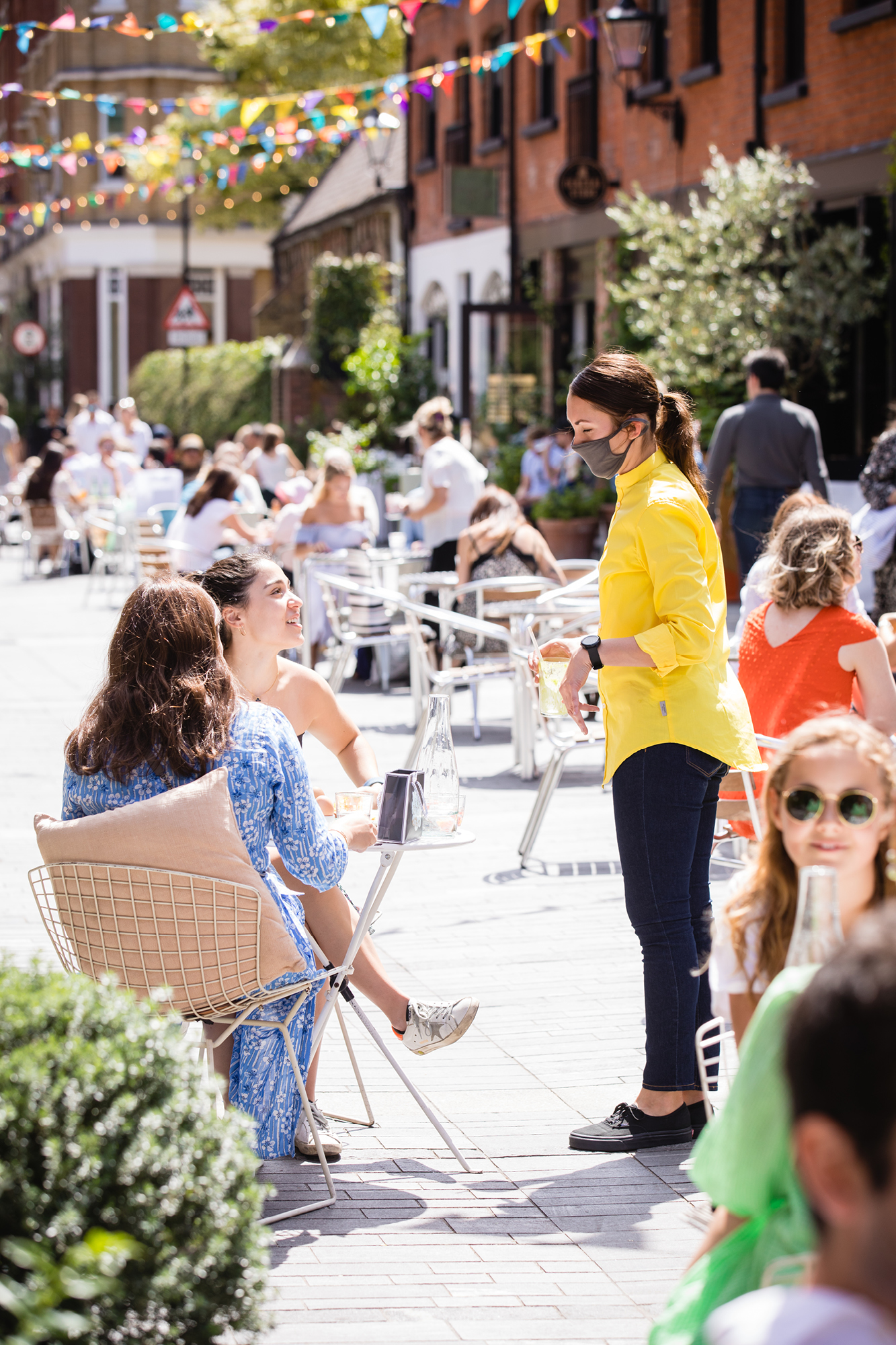 Cadogan's visionary management of the area means Chelsea is now a prime destination for al fresco dining