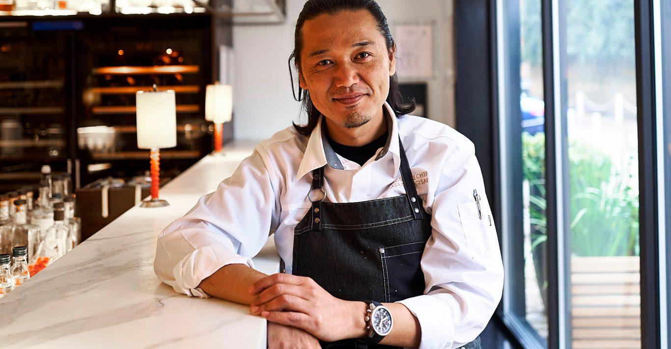 Masaki Sugisaki, executive chef of Dinings SW3