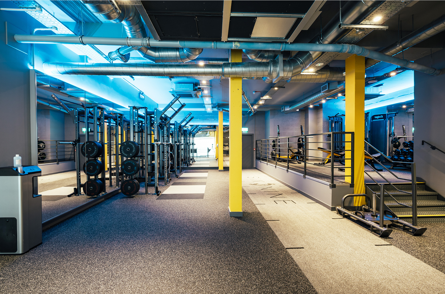 Six3Nine's new City gym on Gun Street