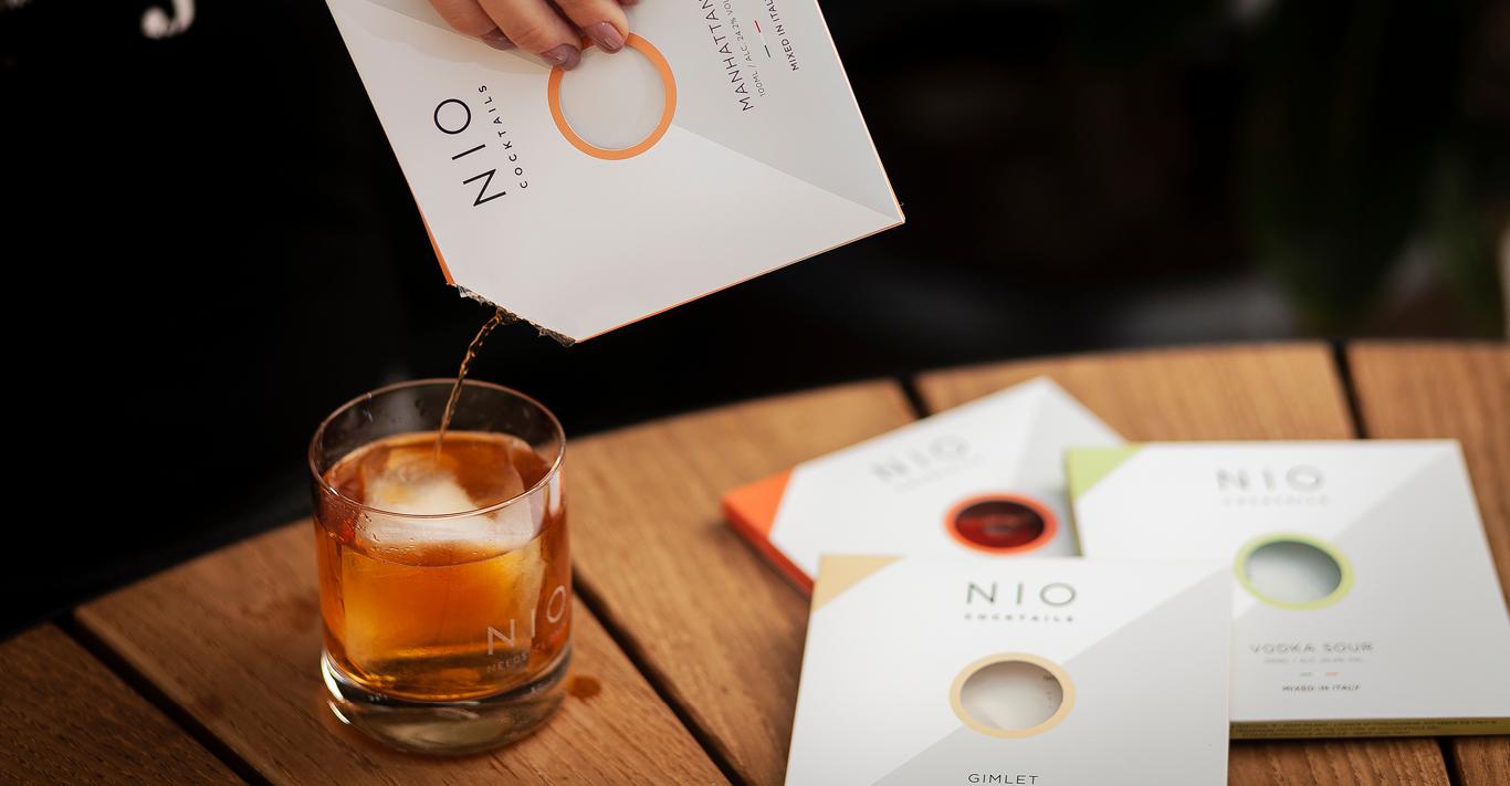 NIO cocktails come in 14 delicious variations
