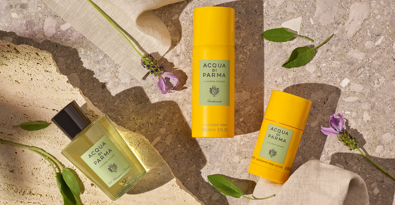 Acqua di Parma's new fragrance, Colonia Futura