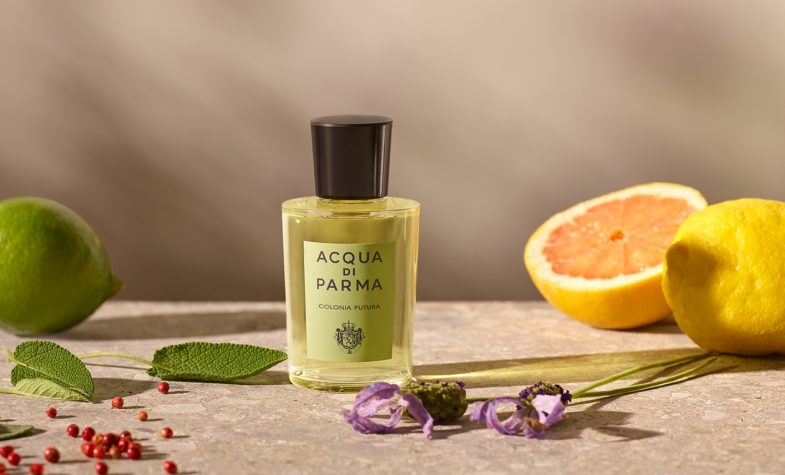 Acque di Parma Colonia Futura respects both the environment and Italian tradition