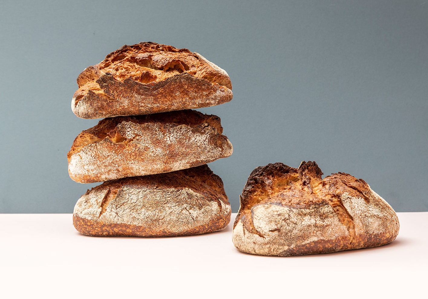 'Home bread makers are our best customers' says Tom Molnar of Gail's, the bakery known for its exceptional sour dough