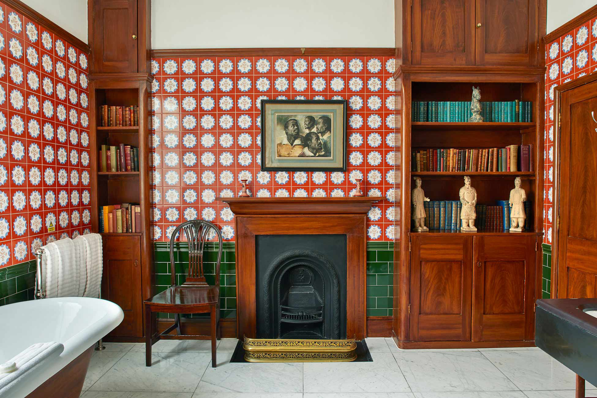 Home House is full of delightfully eccentric interiors