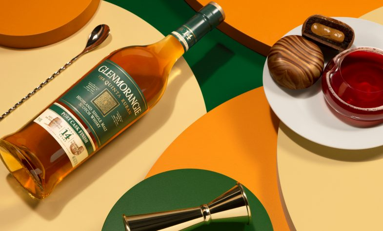 Glenmorangie The Quinta Ruban with its Caketail pairing