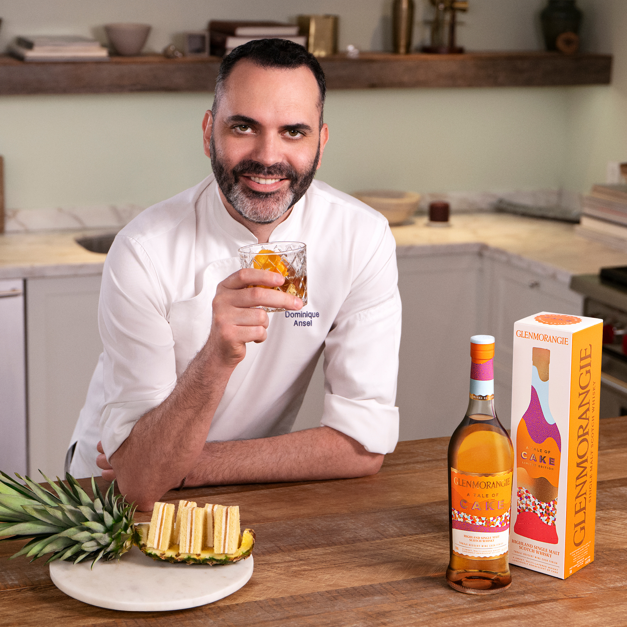 Glenmorangie's A Tale of Cake has been launched with a collaboration with master pastry chef, Dominique Ansel