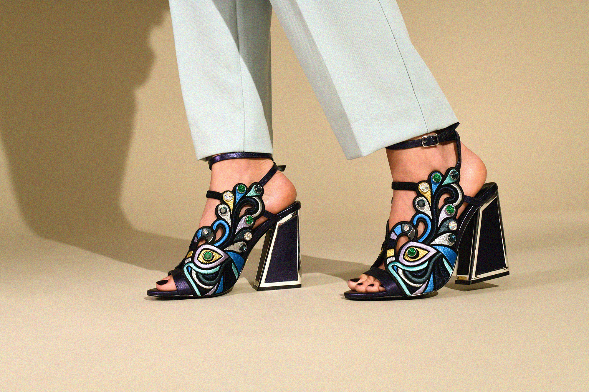 Kat Maconie is known for maximalist, finely detailed footwear