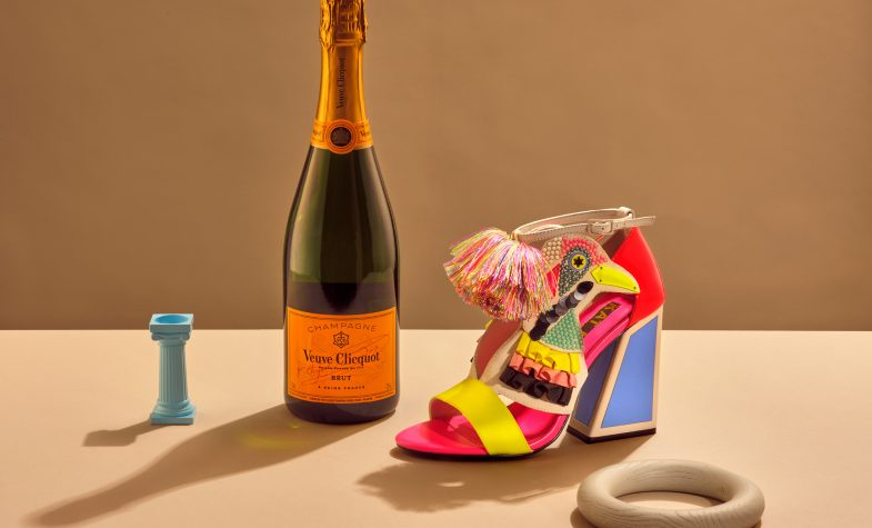 Kat Maconie and Veuve Cliquot have collaborated on a champagne terrace