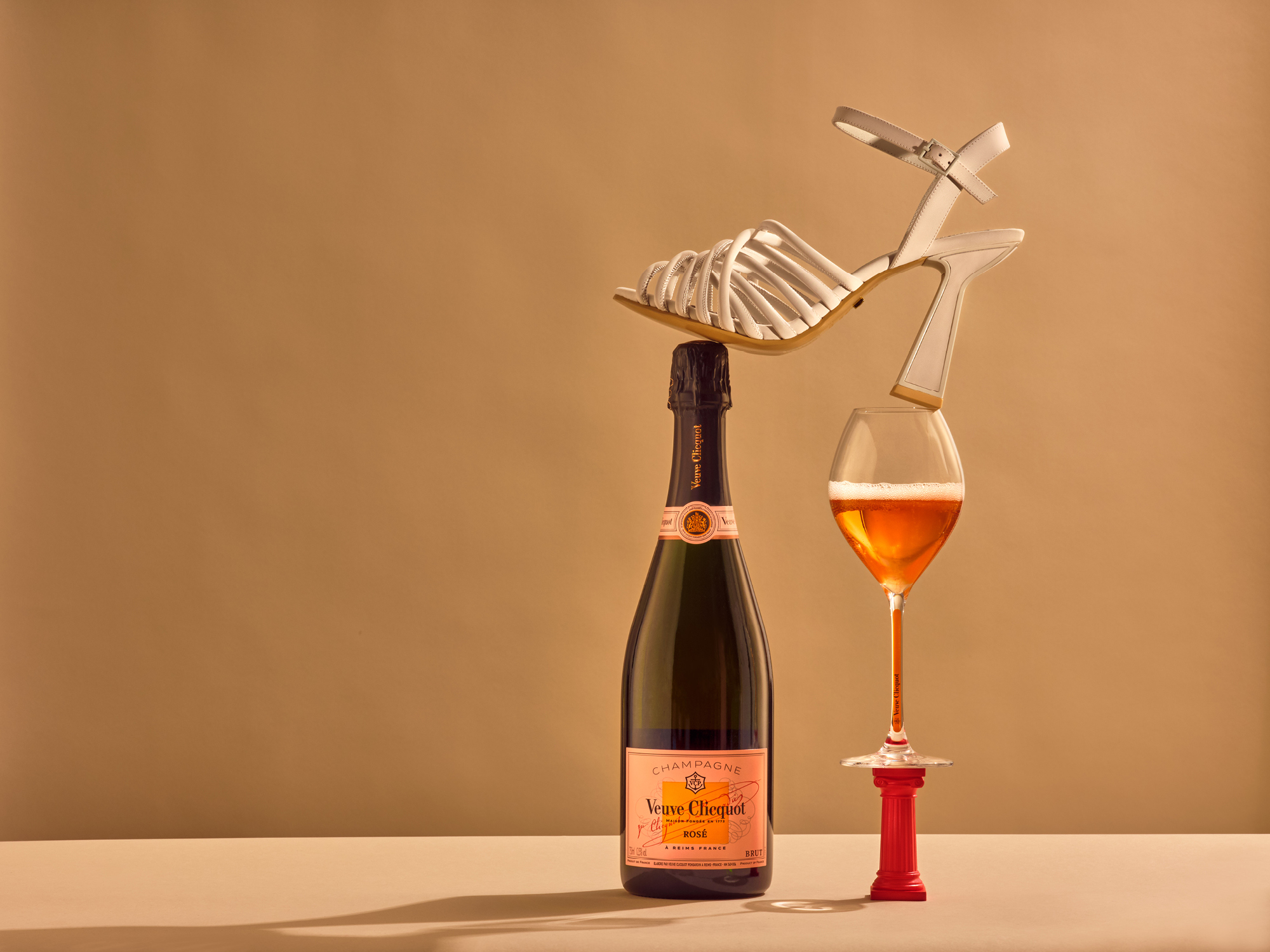 The joy of shoes and champagne with Kat Maconie and Veuve Cliquot