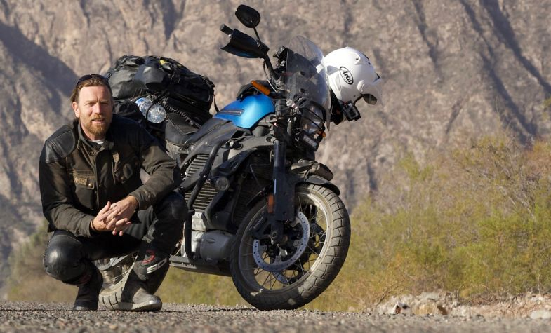 Ewan McGregor has set off on another adventure with Charley Boorman in The Long Way UpEwan McGregor has set off on another adventure with Charley Boorman in The Long Way Up