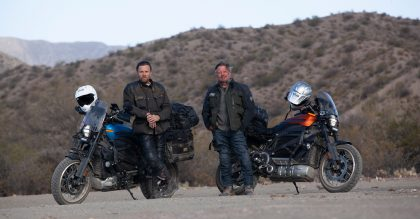 Ewan McGregor and Charley Boorman wear Belstaff in their new TV show The Long Way Up
