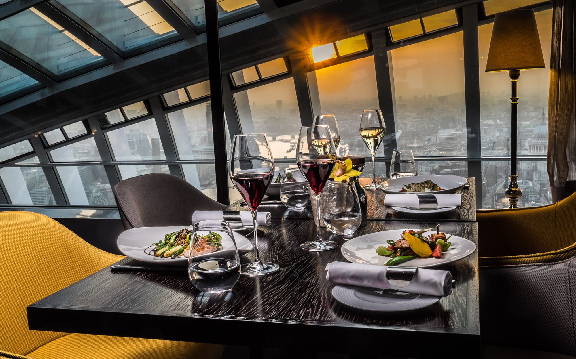 Fenchurch boasts striking views across the City of London