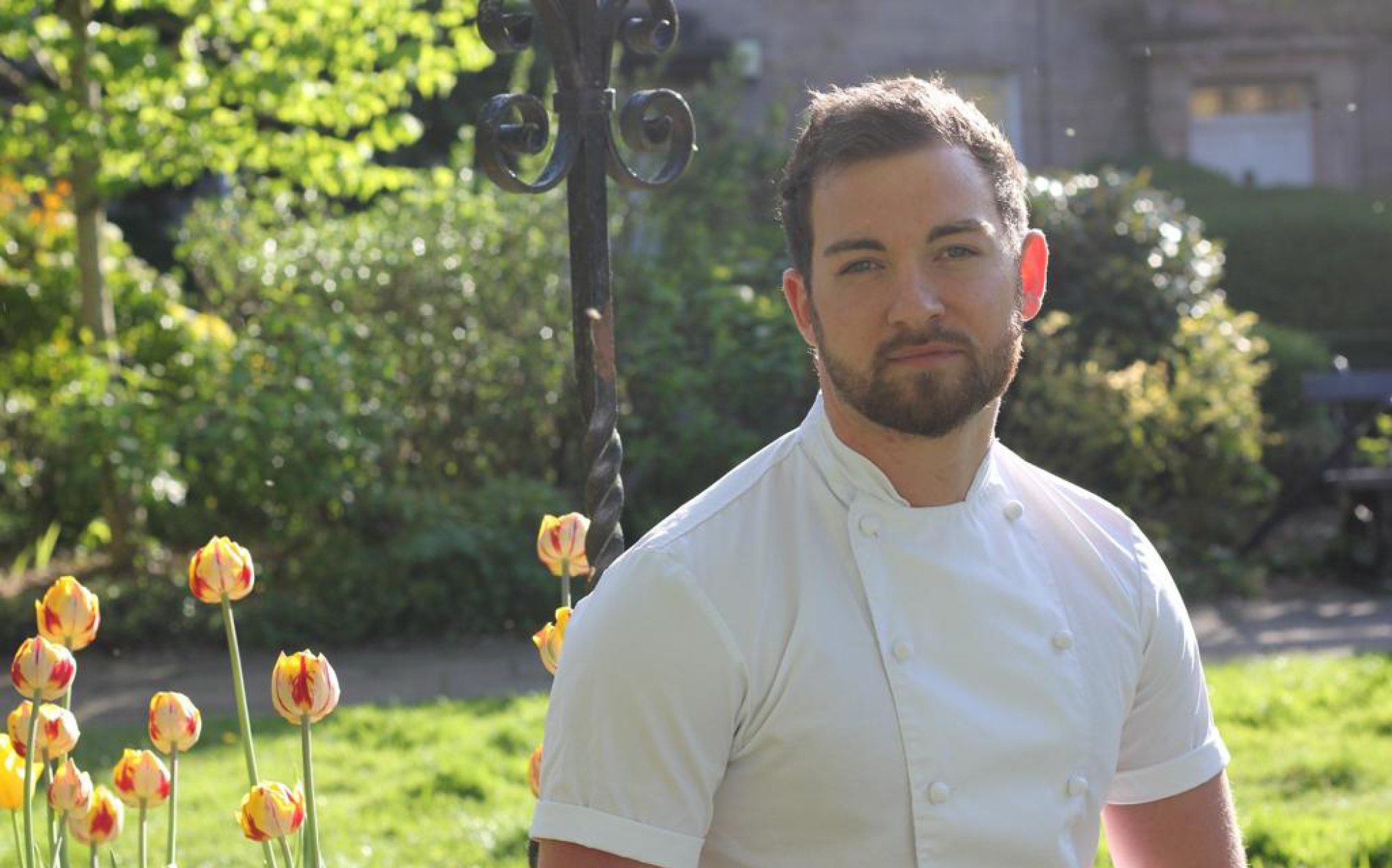 Michael Carr, head chef of Fenchurch Restaurant