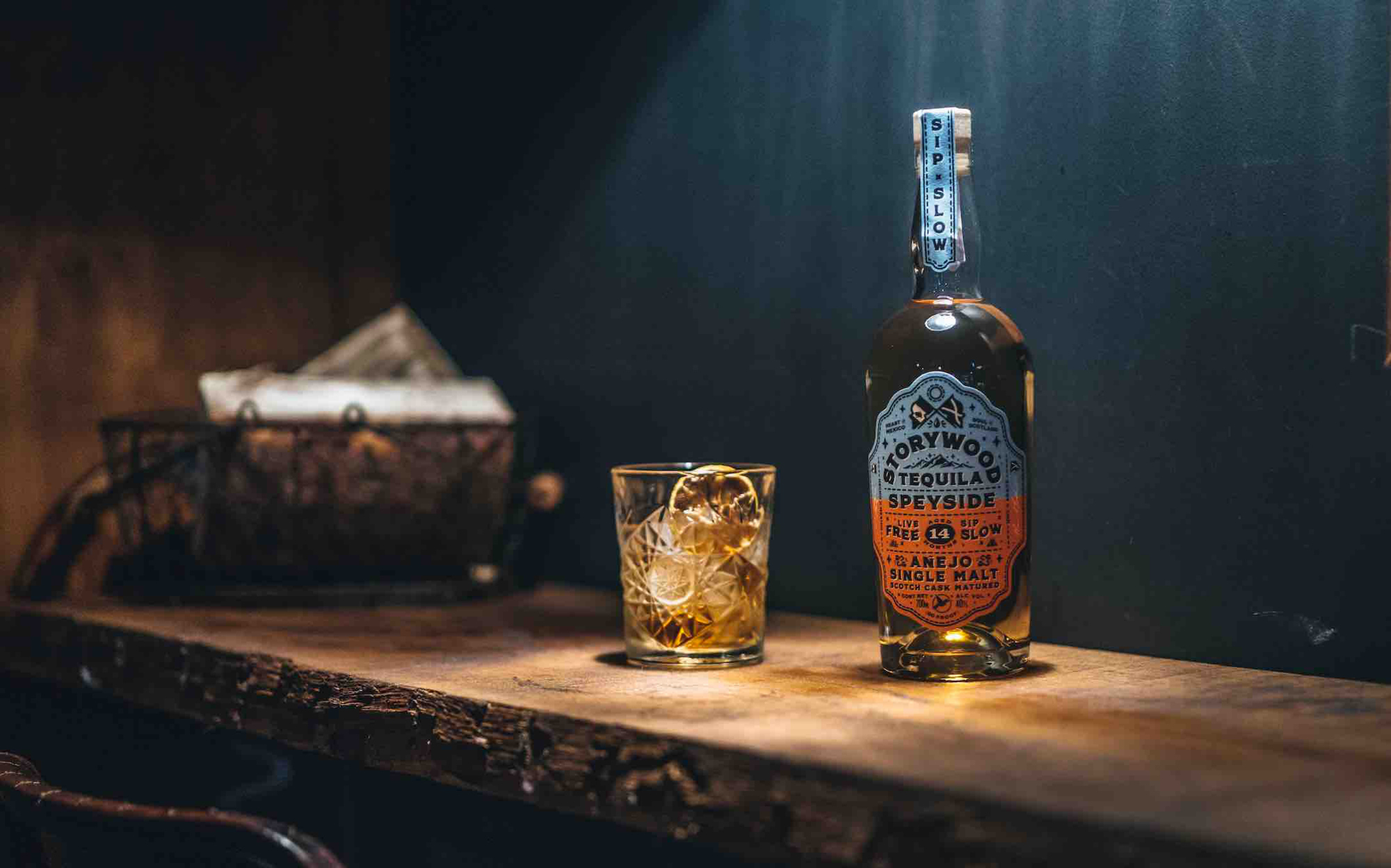 Storywood Speyside 14 Anejo Tequila is matured for 14 months or more in Speyside whisky barrels