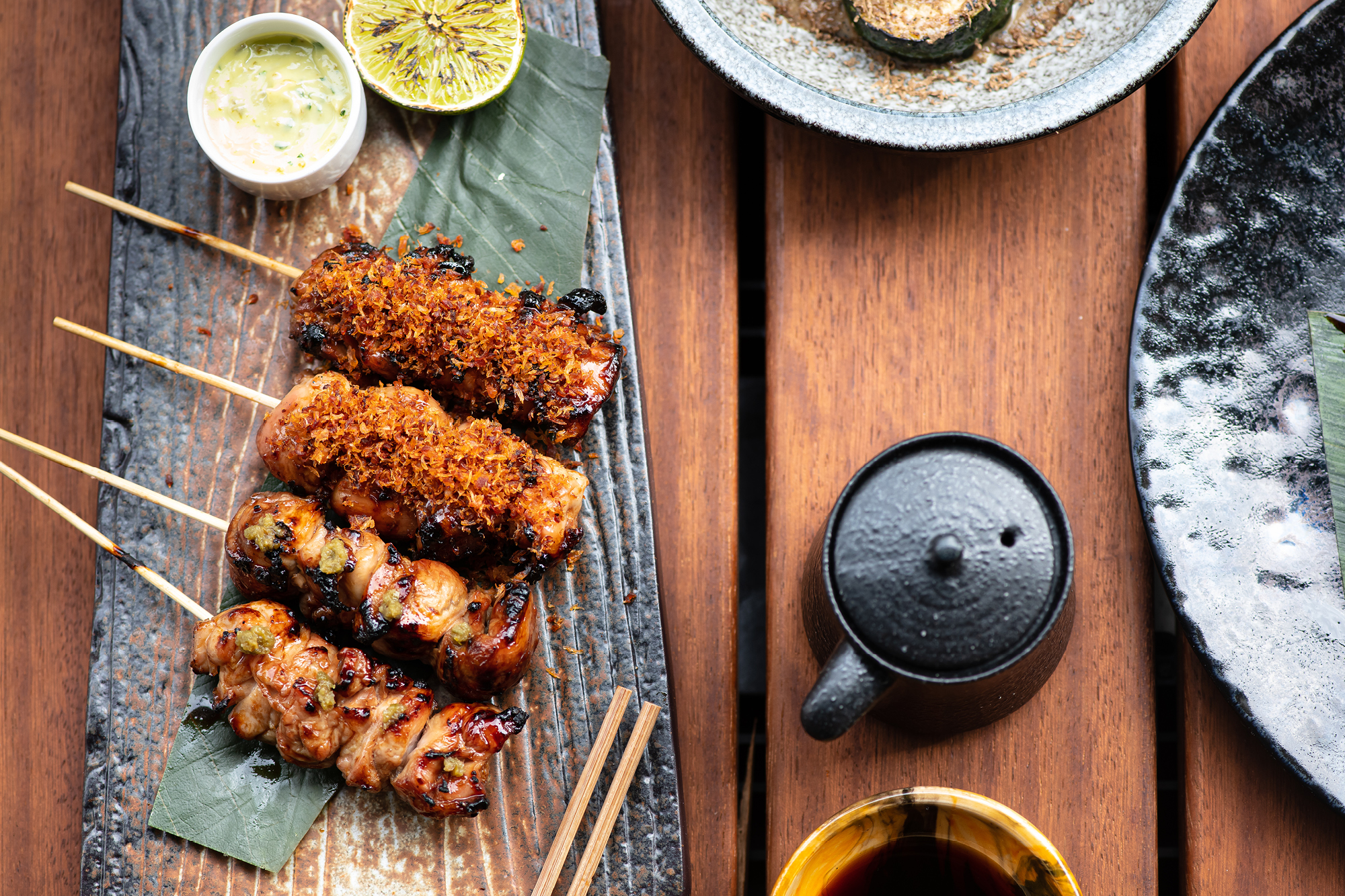 Taka Marylebone features a menu of small plates, grills and sushi