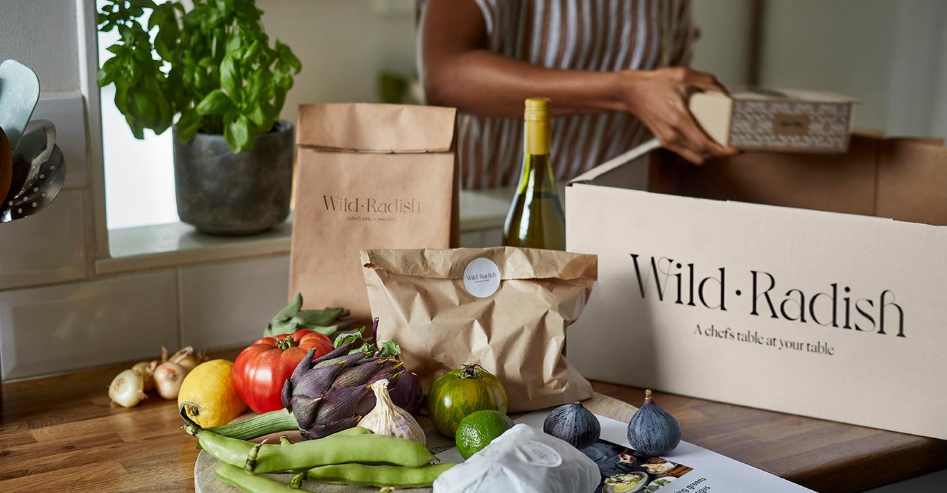 Wild Radish is a chef-created recipe box