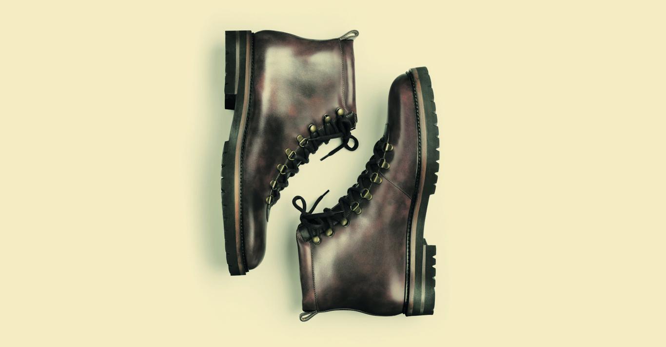 Manolo Blahnik hiking boots
