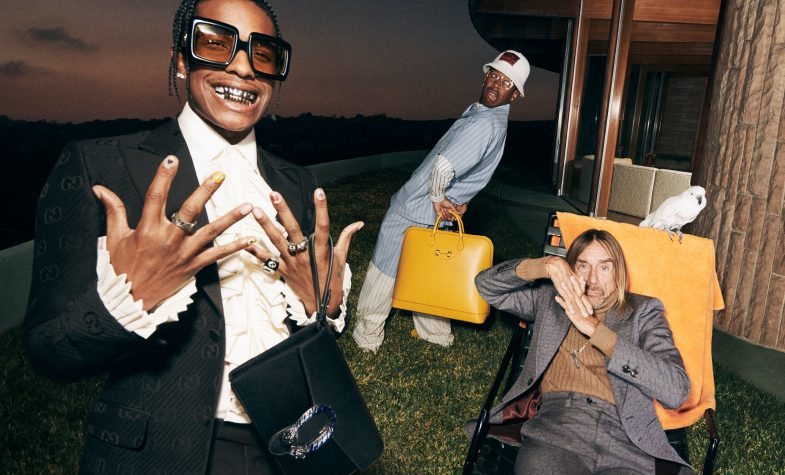 A$AP Rocky, Tyler the Creator and Iggy Pop star in the latest Gucci menswear campaign